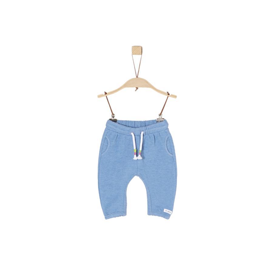s.Oliver Sweatpants light blue melange