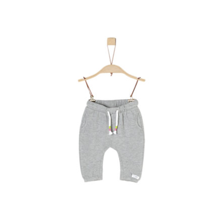 s.Oliver Girls Sweathose light grey melange