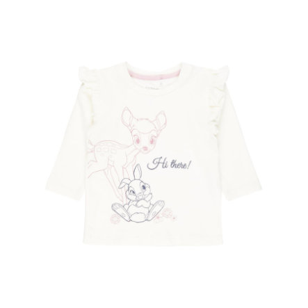 name it Girls Langarmshirt Nbfthumper snow white