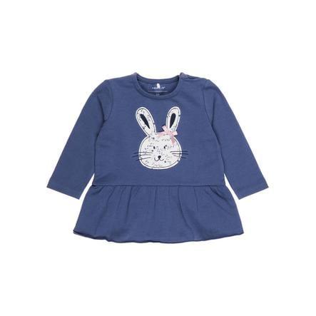 NAME IT Tyttöjen pitkähihainen paita Nbfermarie vintage indigo