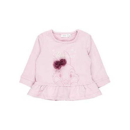 name it Girl s Sweatshirt Nbfthumper dageraad roze