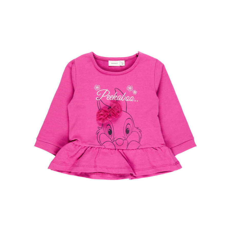 name it Girl s Sweatshirt Nbfthumper Nbfthumper rouge rouge