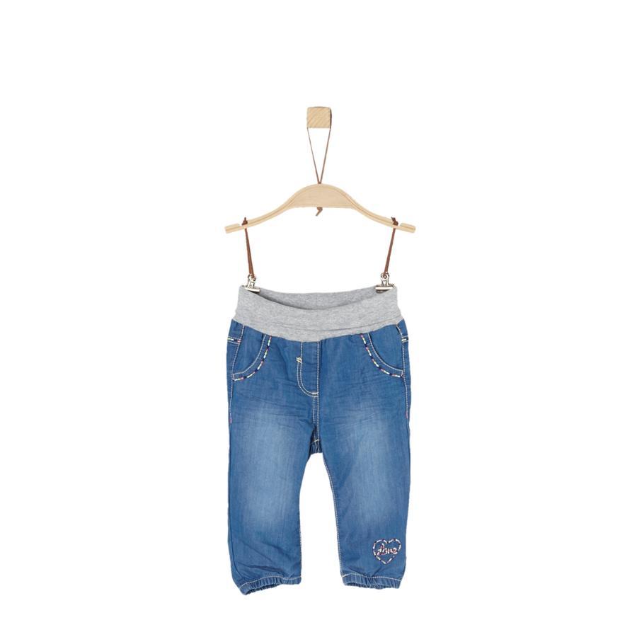 s.Oliver Girls Jeans blue denim non stretch
