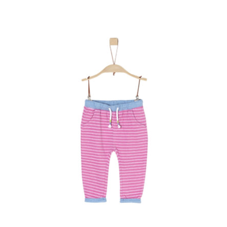 s.Oliver Girls Hose pink stripes