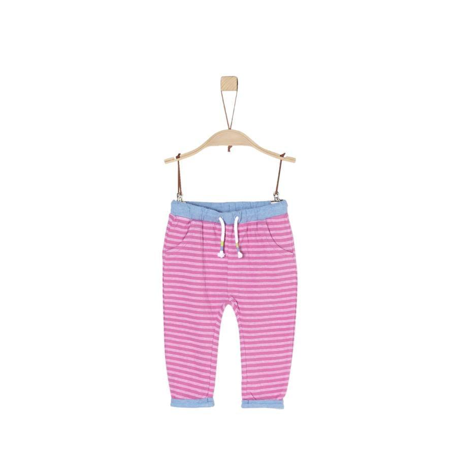 s.Oliver Byxor pink stripes