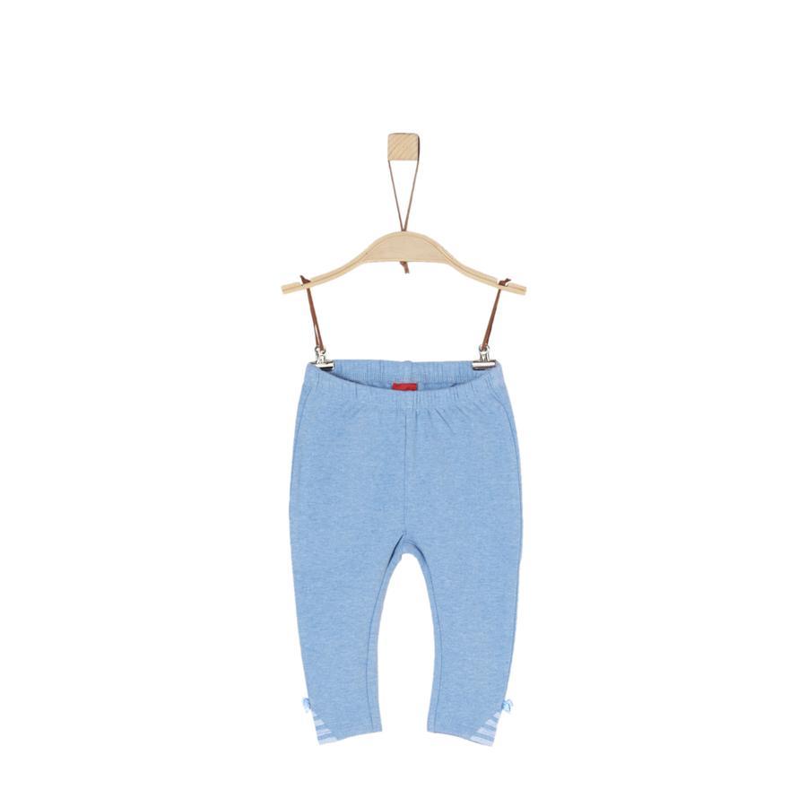 s.Oliver Girl s broek lichtblauw gemêleerd licht blauw melange