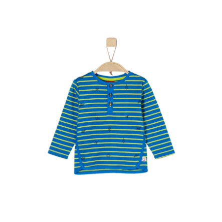 s.Oliver Boys Chemise manches longues rayures bleues