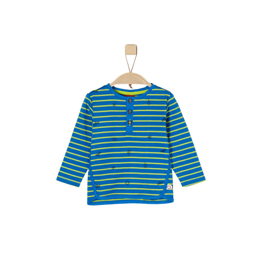 s.Oliver Boys Langarmshirt blue stripes
