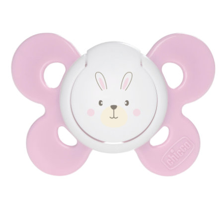 CHICCO Sucettes calmantes ''Physio Comfort'' Rose, 0M+, Silicone, Fille