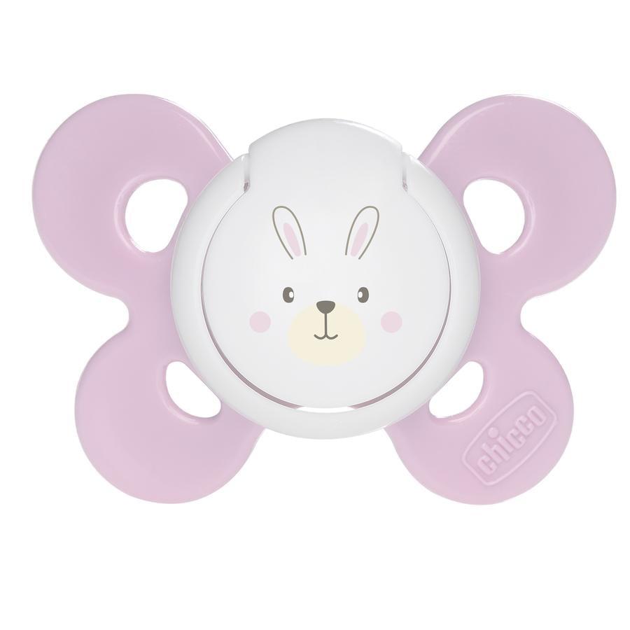 chicco Physio Comfort Silikon-Beruhigungssauger rosa ab dem 0. Monat ...