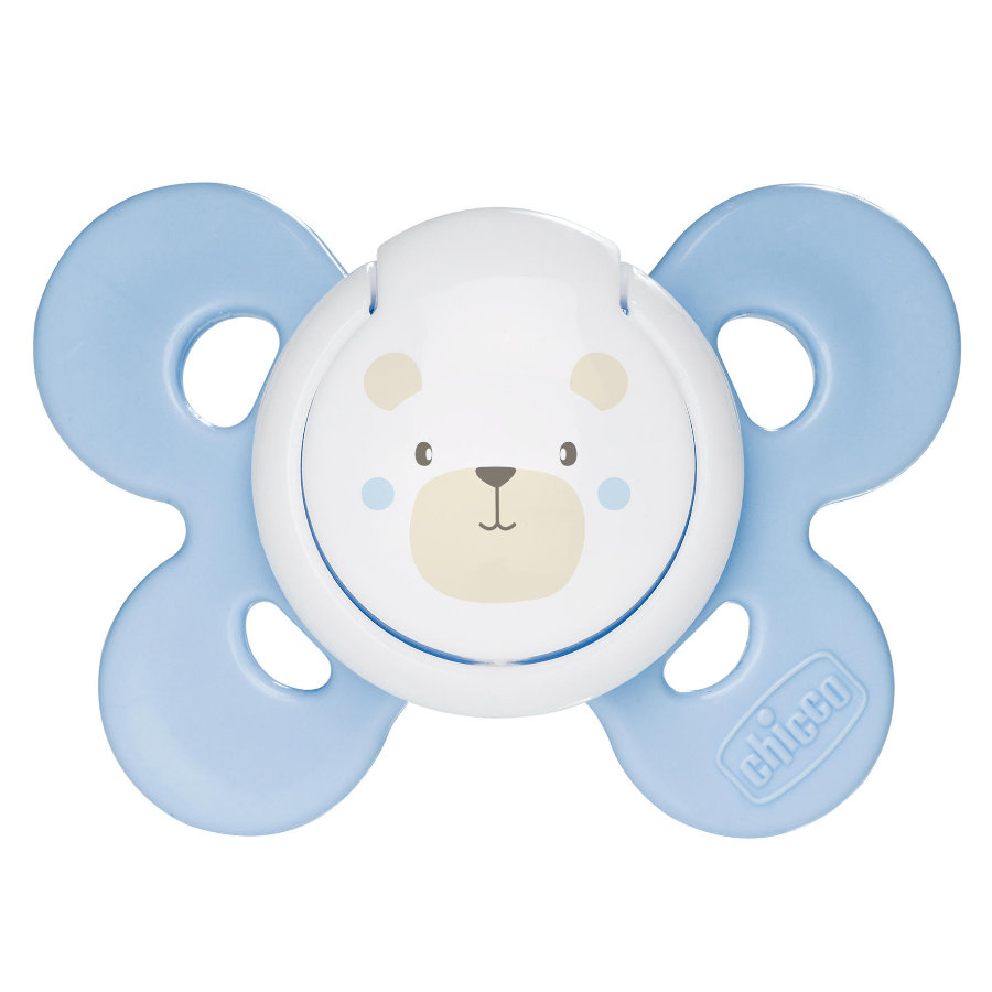CHICCO ''Physio Comfort'' Pacifier, Blue, 0m+, Silicone, Boy
