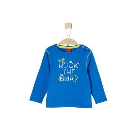 s. Oliver Poikien pitkähihainen paita sininen