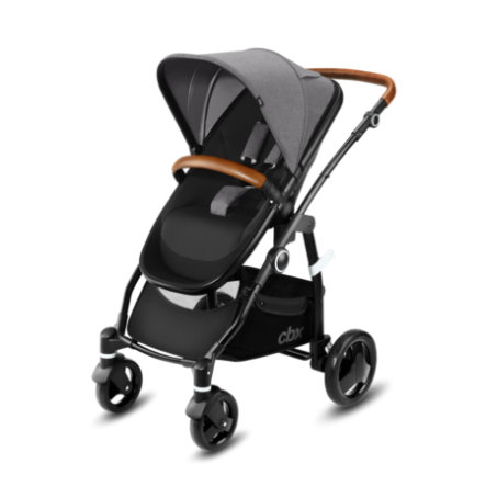 cbx Kombivogn Leotie Lux Leather Comfy Grey-grey by cybex