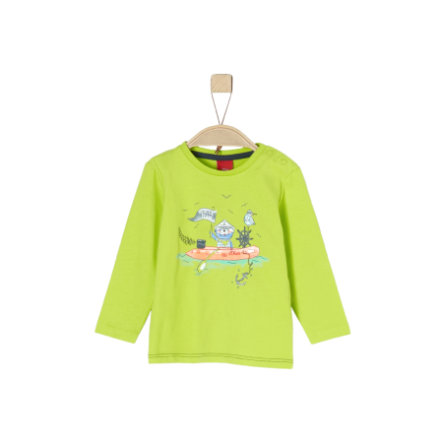 s.Oliver Långärmad tröja light green