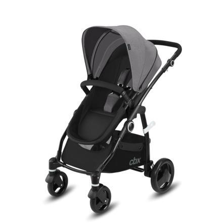cbx Wózek 2 w 1 Leotie Pure Comfy Grey - kolor szary