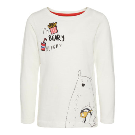name it Boys Langarmshirt Nmmerbeary snow white