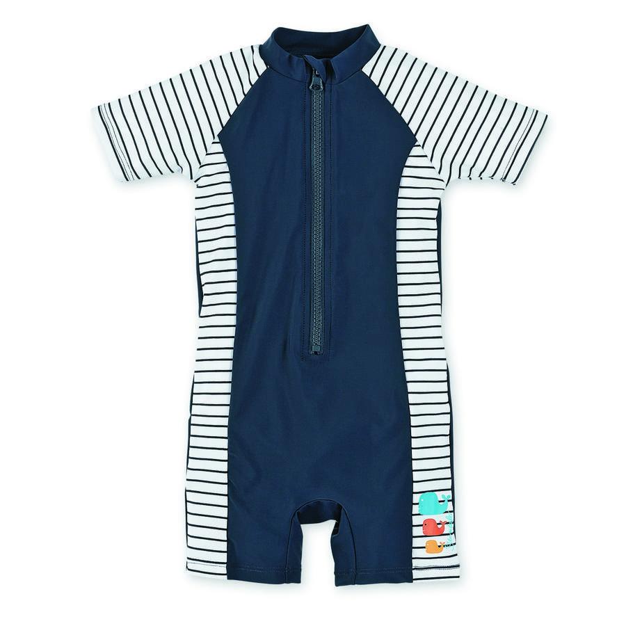 Sterntaler Boys koupací oblek s UV ochranou, Wal modrý