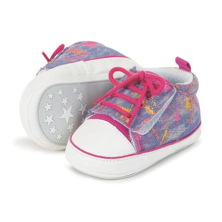 Sterntaler Girl s Baby shoe magenta