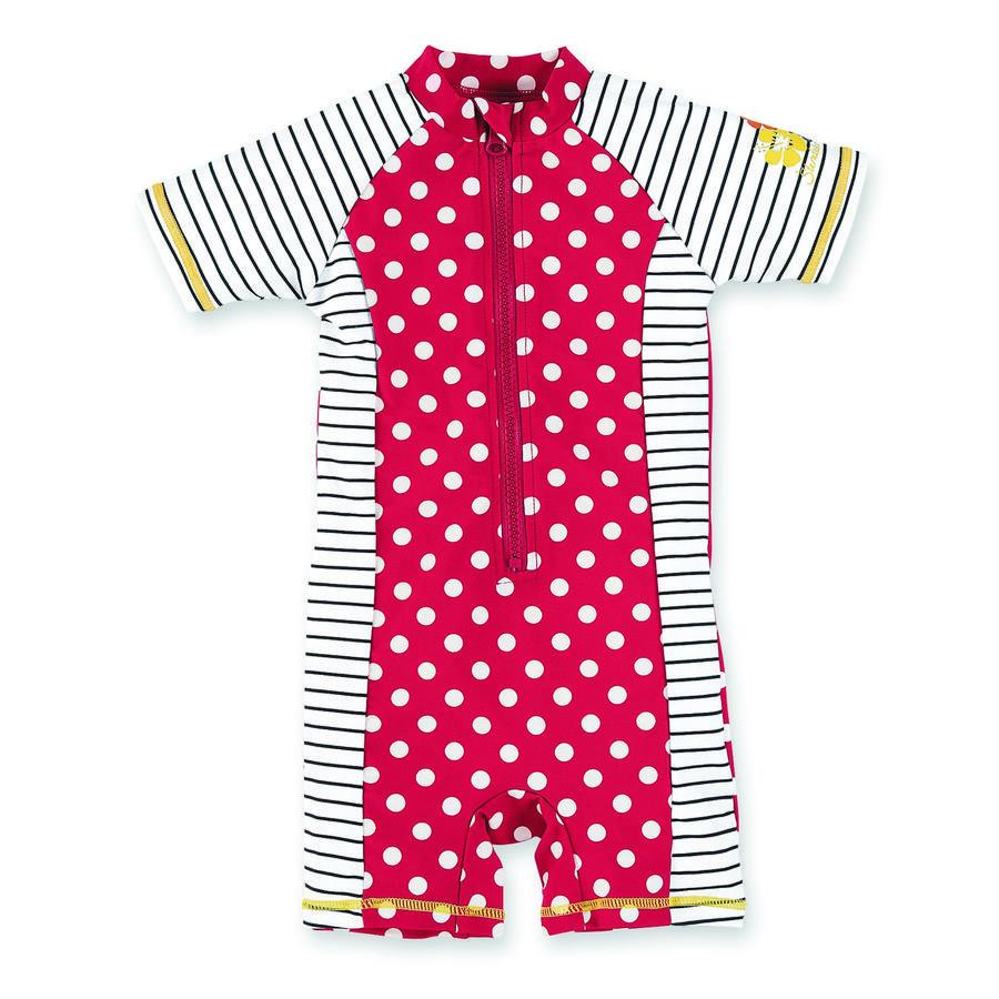 Sterntaler Girls UV-Schwimmanzug Punkte rot