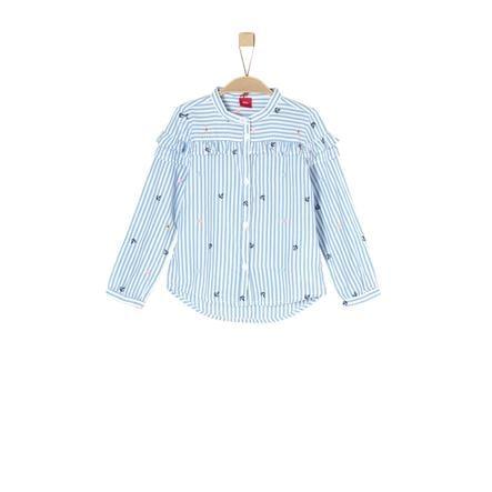 s.Oliver Girl s blouse blauw aop