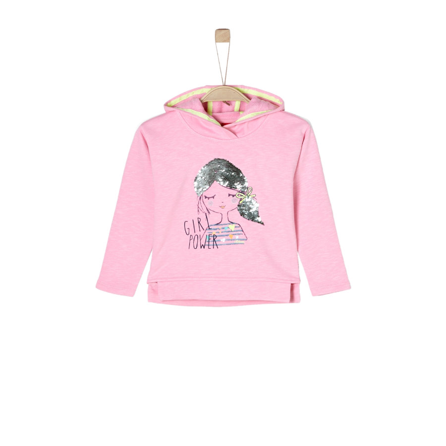 s.Oliver Girl s bluza bluza jasnoróżowa