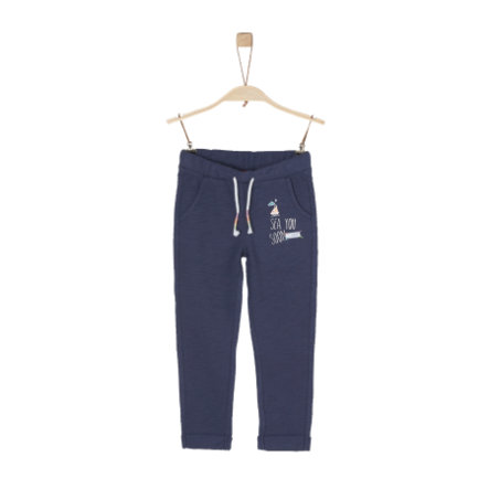 s.Oliver Girls Jogginghose dark blue