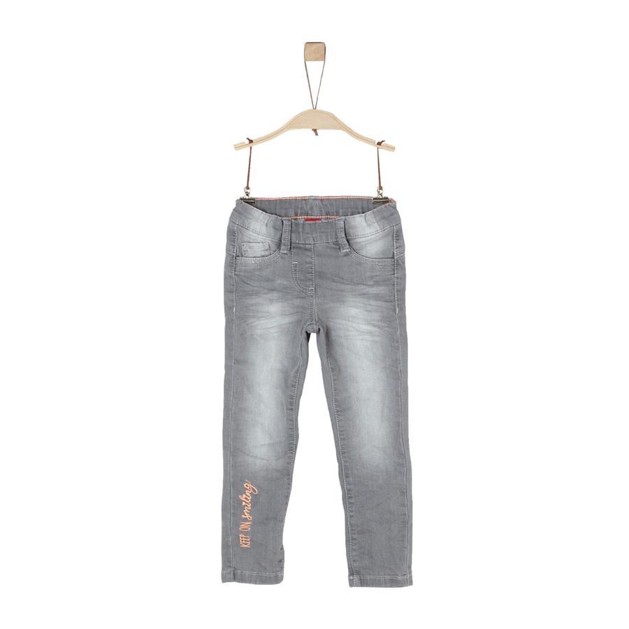 s.Oliver Girls Jeans grey denim stretch