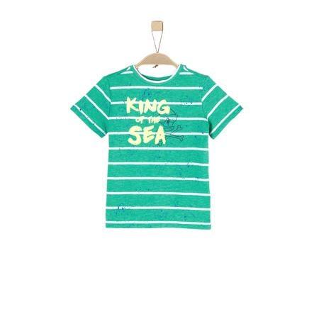 s.Oliver Boys T-Shirt groene strepen