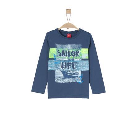 s.Oliver Boys Langærmet shirt dark blue