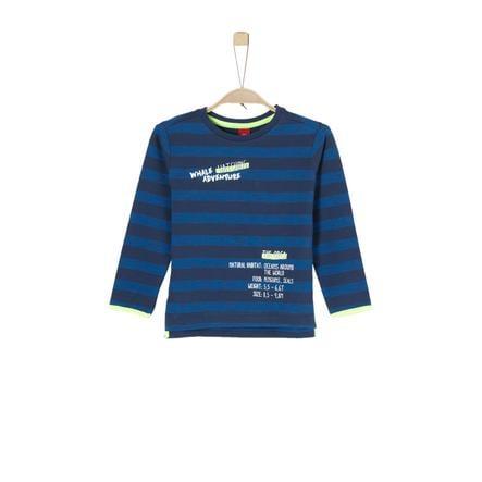 s.Oliver Boys Sudadera rayas azul oscuro