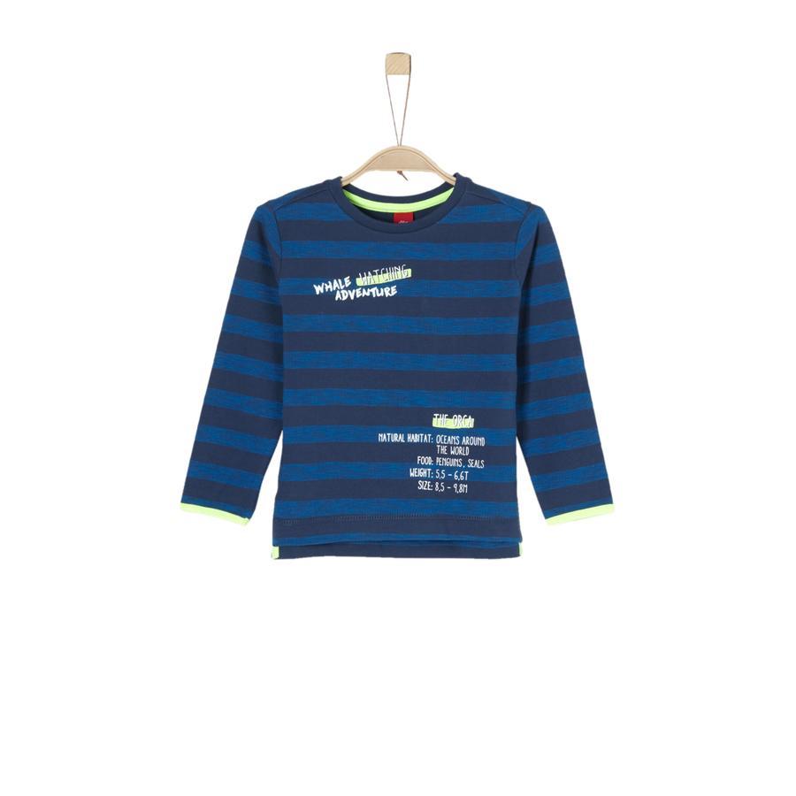 s. Oliver poikien paita tummansinisiä raitoja
