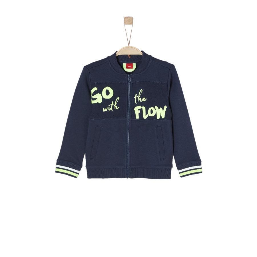 s.Oliver Boys Sweatjacke dark blue