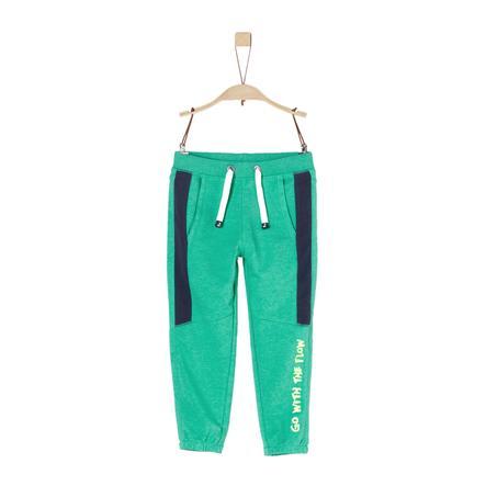 s.Oliver Boys Jogginghose green melange