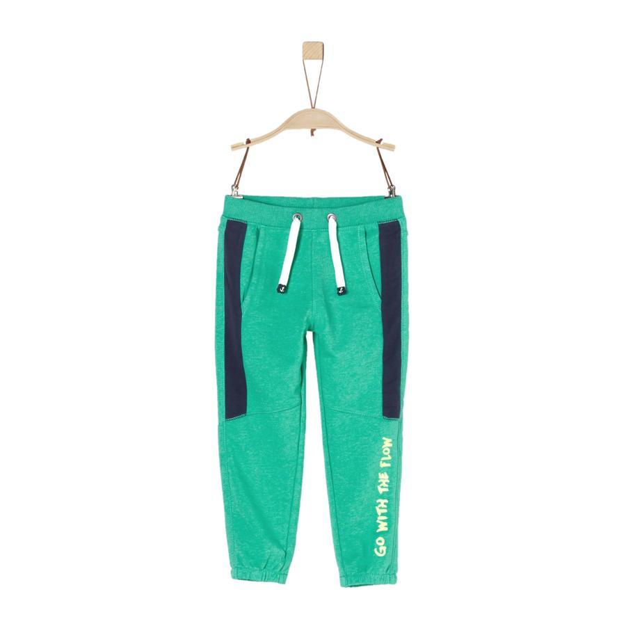 s.Oliver Boys Joggingbukser green melange
