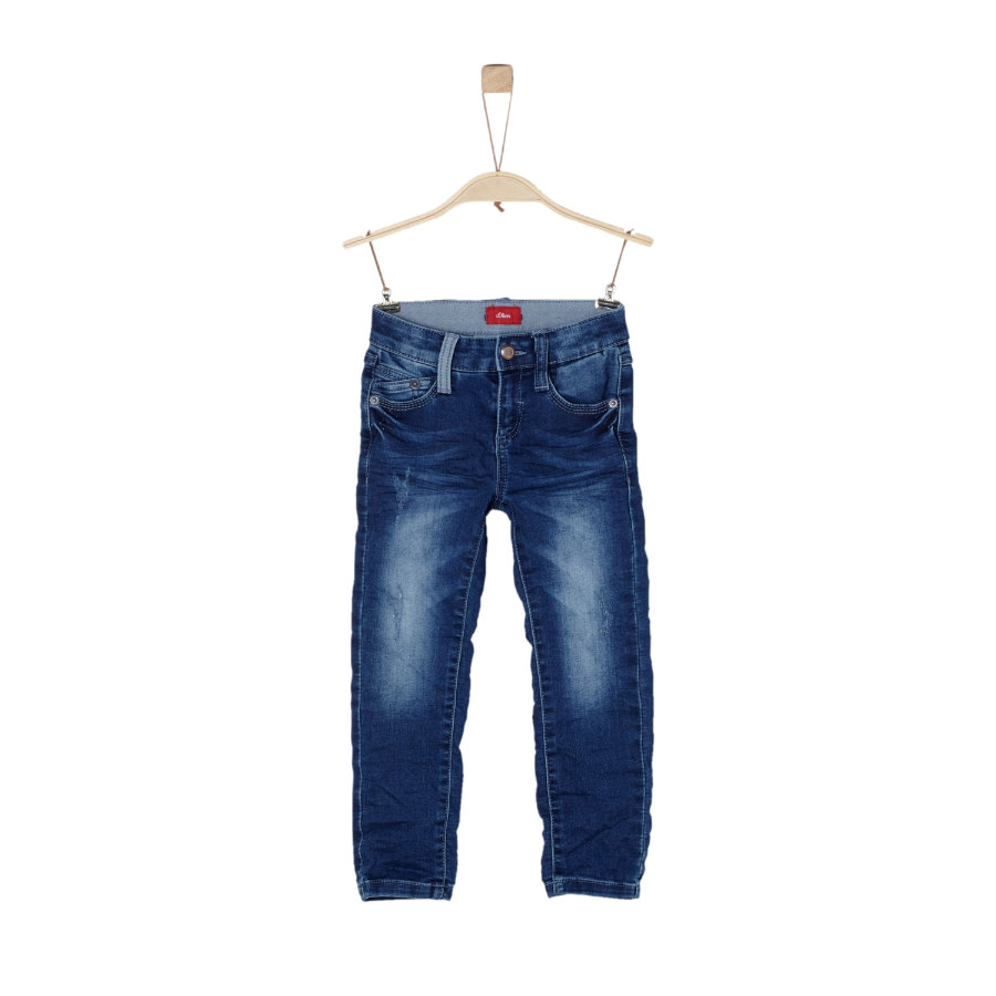 s.Oliver Boys Jeans blu denim stretch