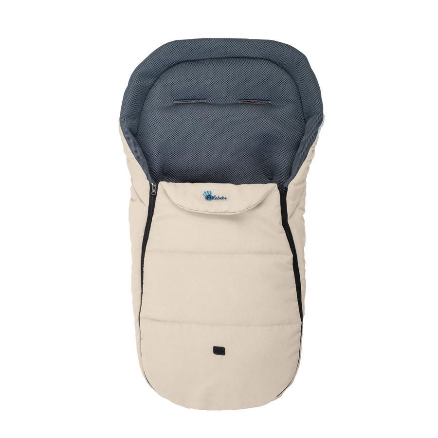 Altabebe Sommerkørepose af mikrofiber Mesh til klapvogn beige