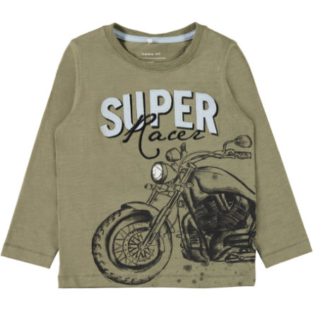 name it Boys Langarmshirt Nmmerben dusky green