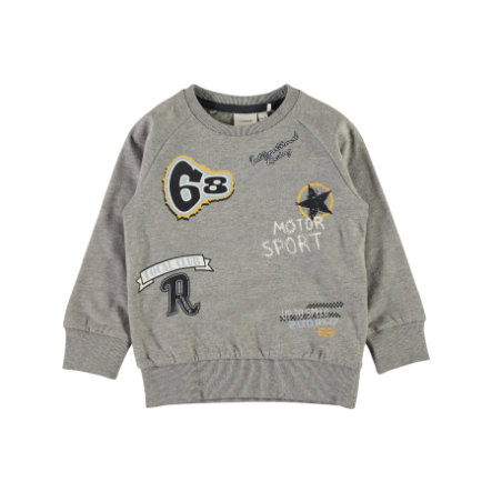 name it Boys Sweatshirt Nmmvalexander gris mélangé