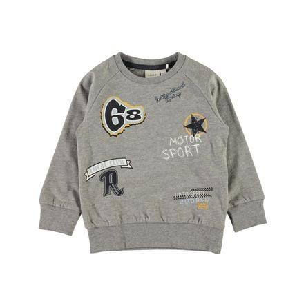 Name It, Sweatshirt, Nmmvalexander Grey Melange
