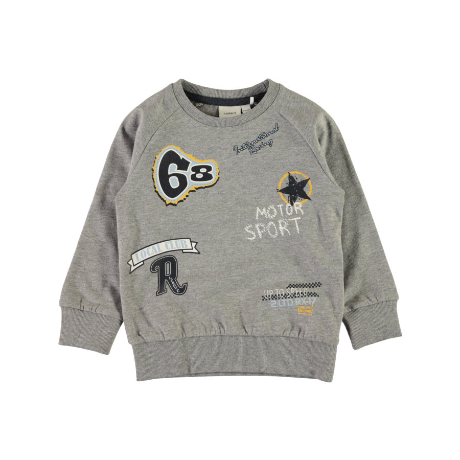 name it Boys Sweater Nmmvalexander grijs gemêleerd grijs gemêleerd