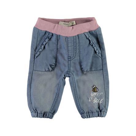 name it Girl s Jeans Mabra średnio-niebieski denim Mabra