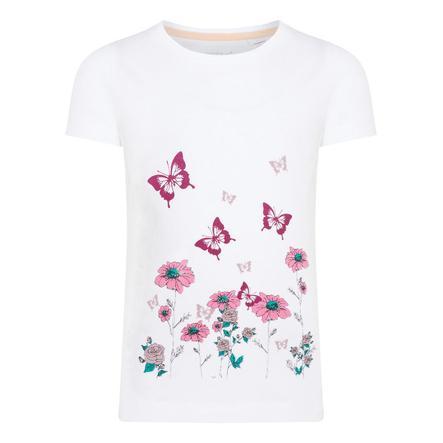 name it Girl s T-Shirt Nmfvix blanco brillante