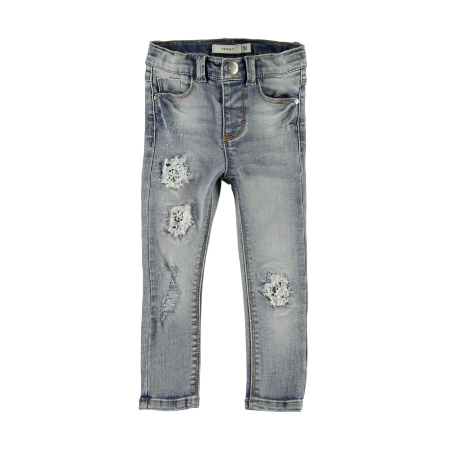 name it Girl s Jeans Nmfpolly denim azul medio