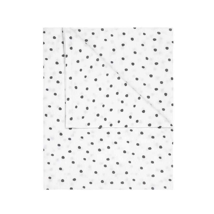 JULIUS ZÖLLNER Jerseydecke Dots grau 70x70 cm