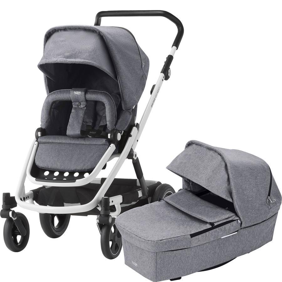 Britax Combi Kinderwagen Go Next² Olive Melange Frame Black