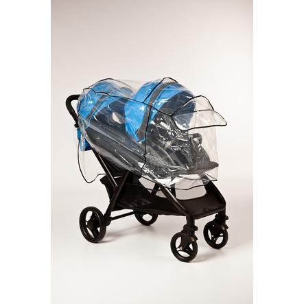 Altabebe Folia przeciwdeszczowa dla wózka podwójnego