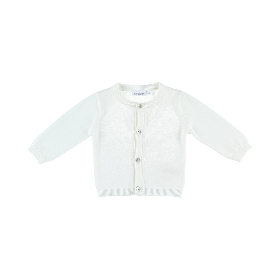 noukie´s Cardigan Cocon blanc