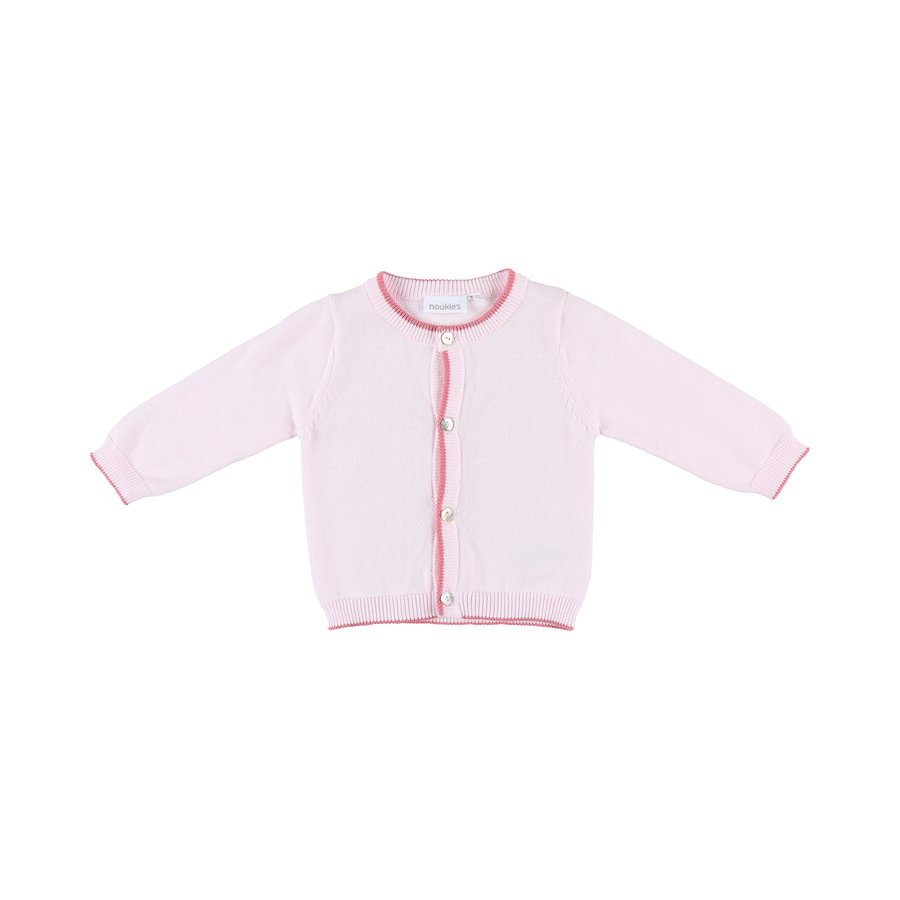 noukie´s Strickjacke Cocon rosa