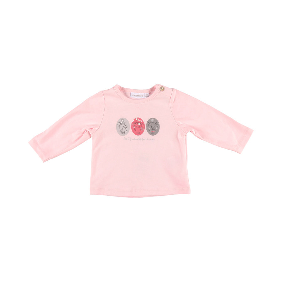noukie´s Chemise manches longues rose coco