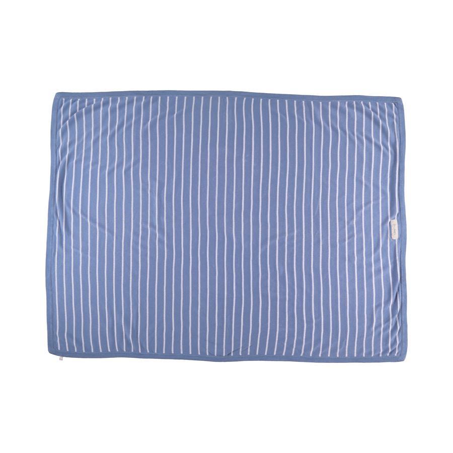 Noukie's Cocon blanket blue